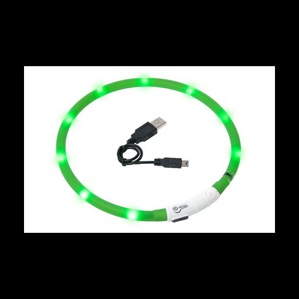 Visio Light LED hundehalsbånd - grøn