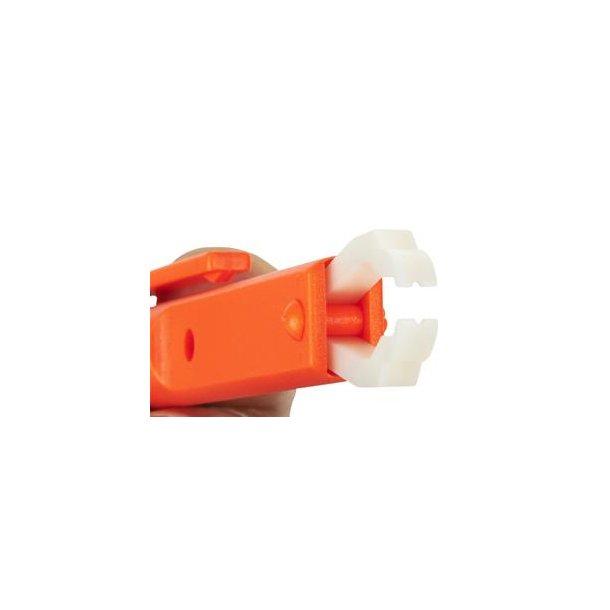 LUKSUS flåttang - orange