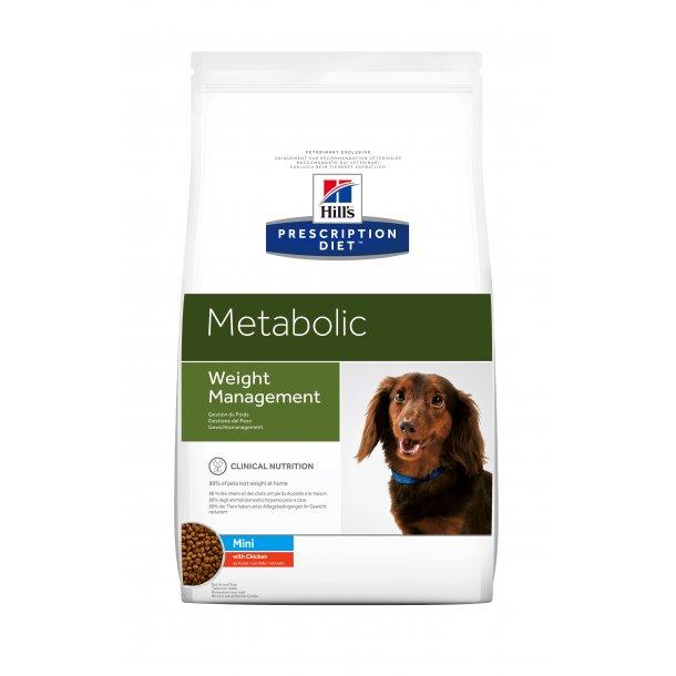 Prescription Diet Metabolic Mini Weight Loss hundefoder