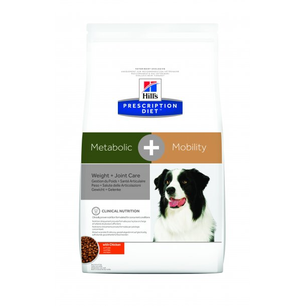 Prescription Diet Metabolic + Mobility hundefoder