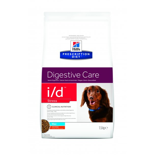 Prescription Diet i/d Stress Mini Gastrointestinale Health hundefoder