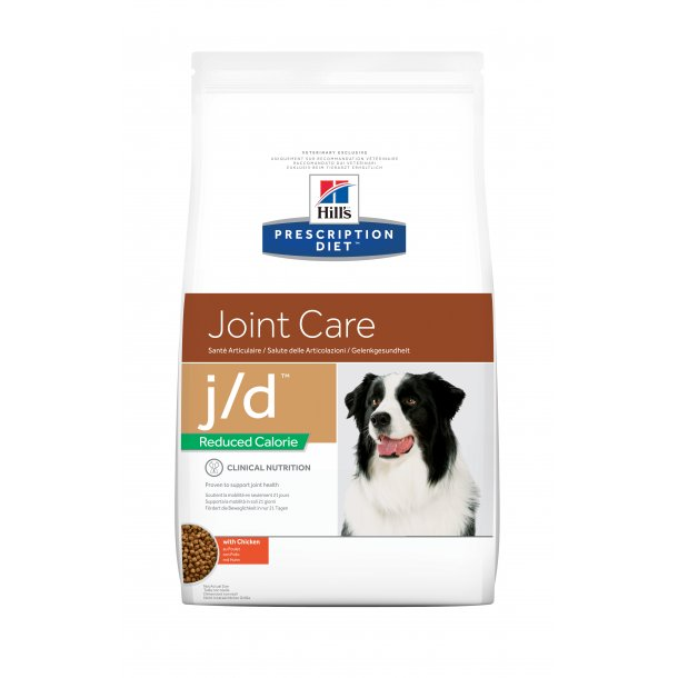 Prescription Diet j/d Mobility Reduced Calorie hundefoder