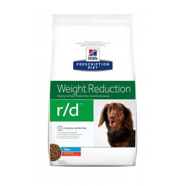 Prescription Diet r/d Mini Weight Loss hundefoder