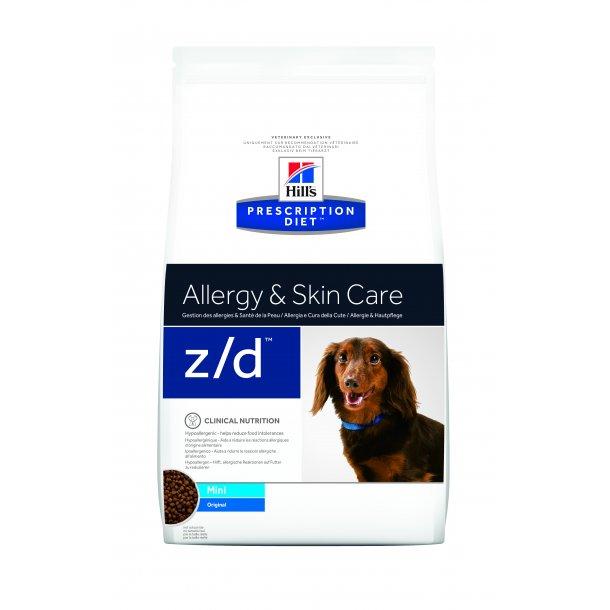 Prescription Diet z/d Mini Food Sensitivities hundefoder