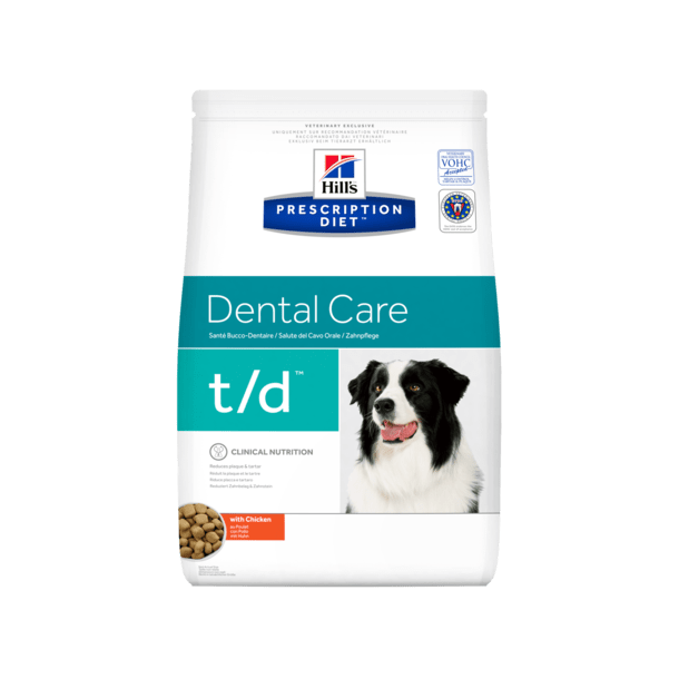 Prescription Diet t/d Dental Health hundefoder