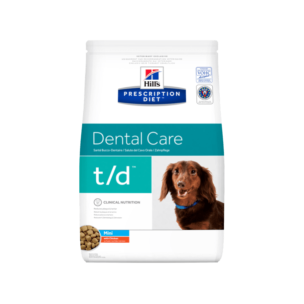 Prescription Diet t/d Mini Dental Health hundefoder