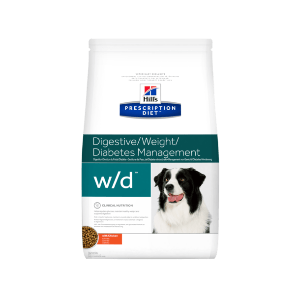 Prescription Diet w/d Weight & Diabetes hundefoder